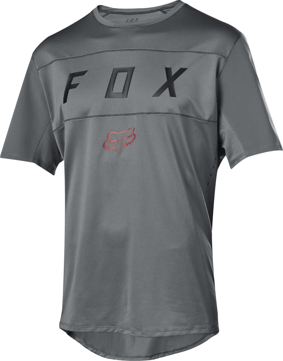 Fox Racing 2019 Flexair s//s Short Sleeve Moth Jersey Grey Vintage