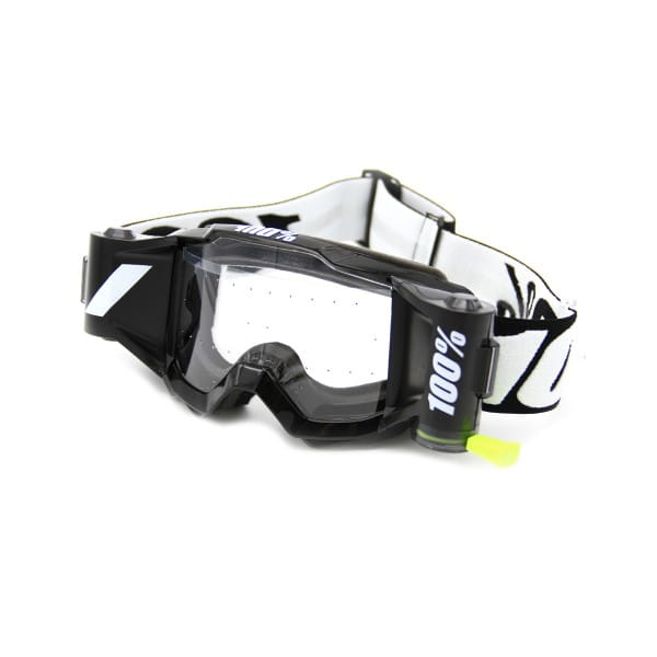 Accuri Forecast Youth Goggle w. Film System, Clear lens - Schwarz