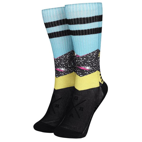 "Socken ""Radical Teal"" - Schwarz/Blau"