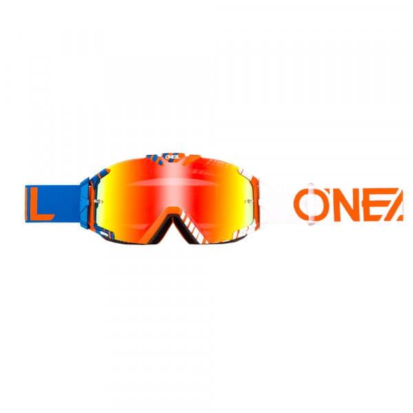 B30 Duplex Goggle - blue/orange - Lens radium red