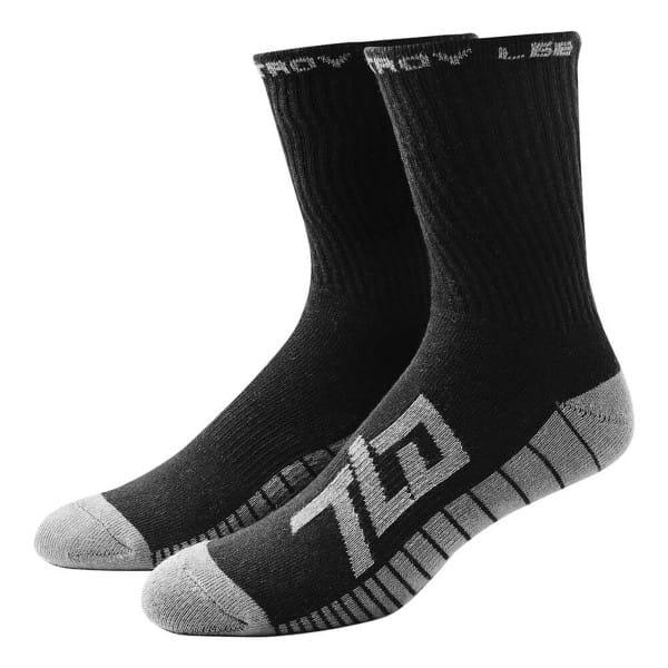Factory Crew Socks Black (3PK)