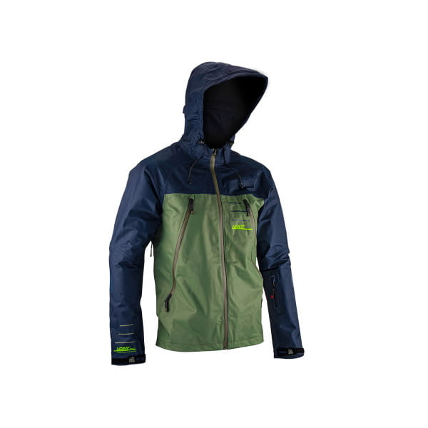 DBX 5.0 Jacket - Wasserdicht - Grün
