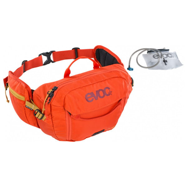 Hip Pack 3L inkl. 1,5 L Trinkblase - Orange