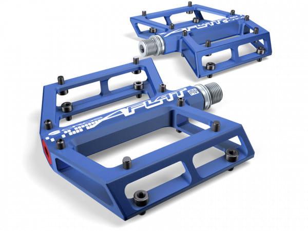 A-Flat MD Plattformpedal - blau
