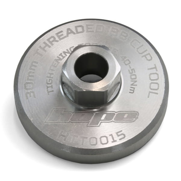30mm tool for Hope - Silver