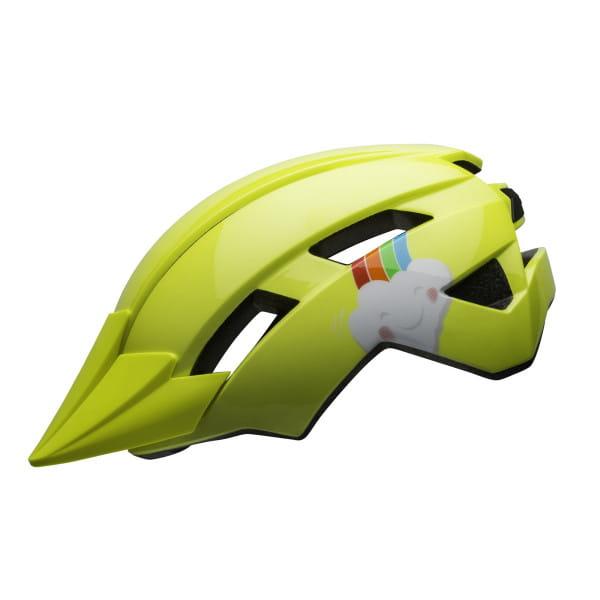 Sidetrack II Kinder Fahrradhelm - Gelb/Wolke