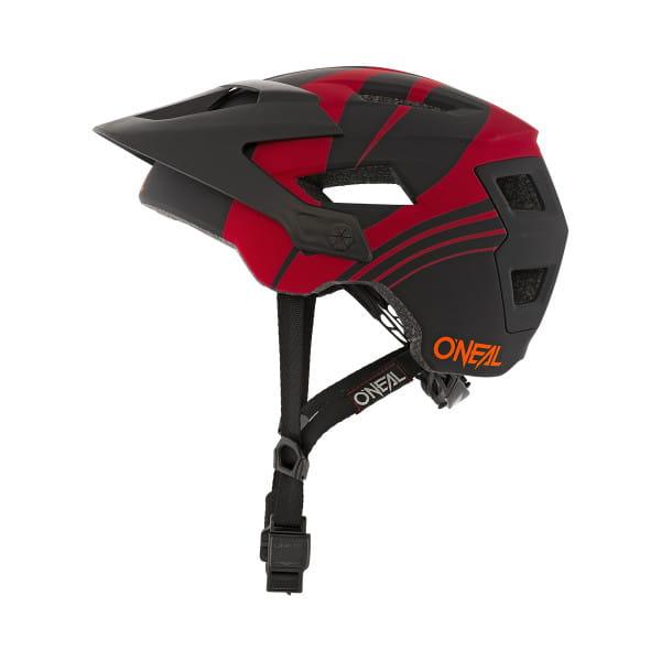 Defender Nova - Helm - Rot/Orange