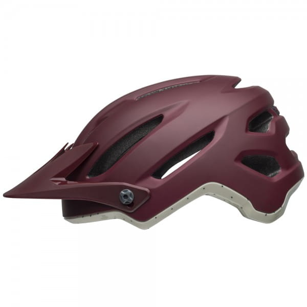 4FORTY Fahrradhelm - Weinrot