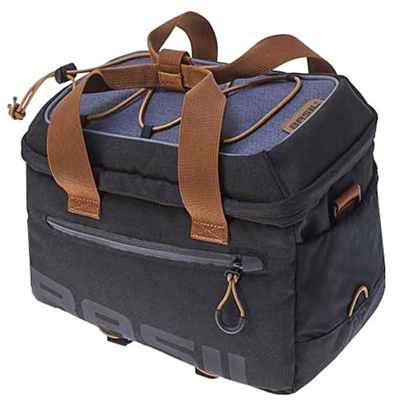 Luggage carrier bag Miles gray - 7 liters