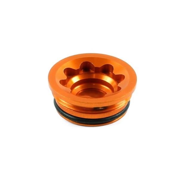 Bore Cap for V4/E4 Caliper Small - Orange
