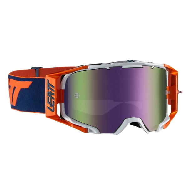Velocity 6.5 Iriz Goggles Anti Fog Mirror Lens - Orange