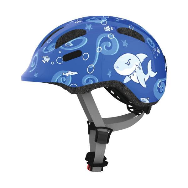 Smiley 2.0 - Kinderhelm - Blue Sharks