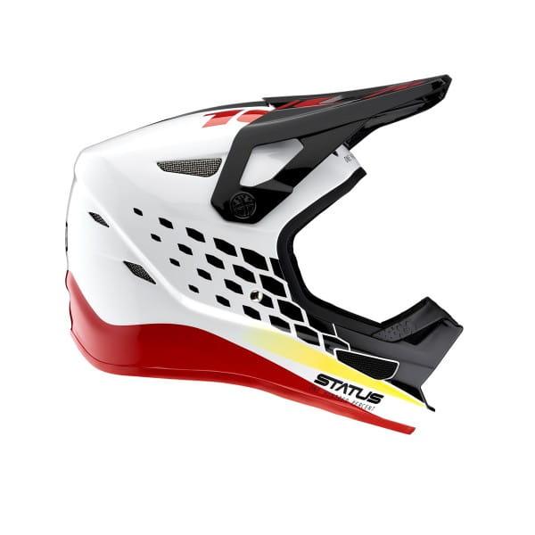 Status Helm Pacer- Weiß/Schwarz/Rot