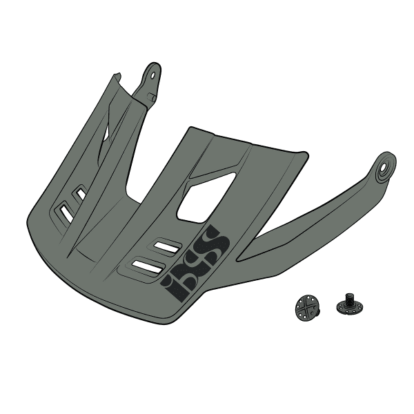 Ersatz Visier + Pins für Trigger FF - Graphite