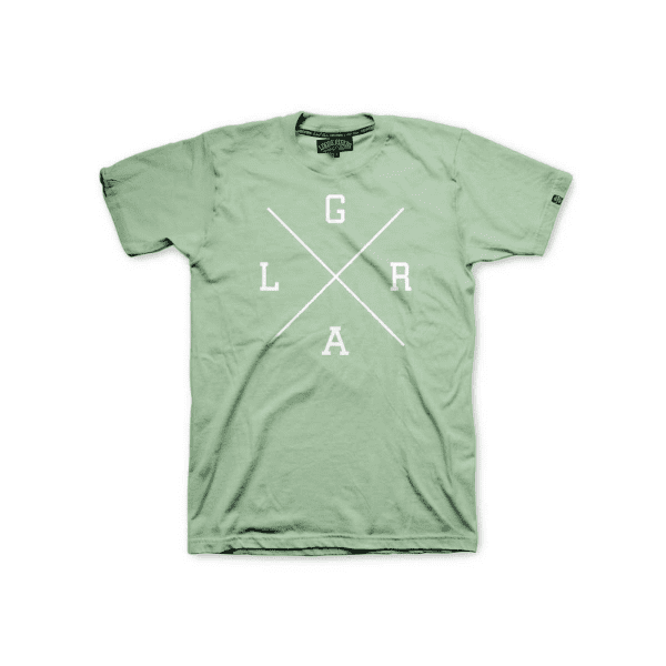 Collegiate T-Shirt X Logo - Mint
