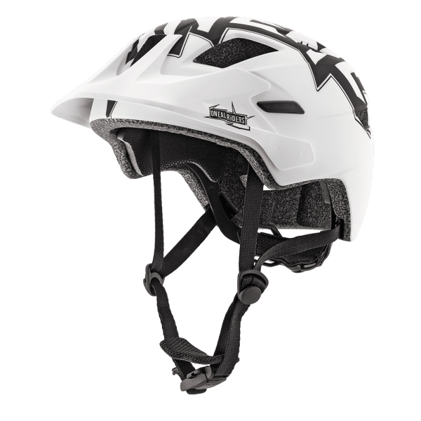 Rooky Stixx Kinder Helm - Schwarz/Weiss