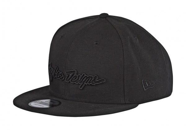 Classic Signature Snapback Cap - Schwarz