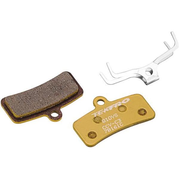 Bremsbeläge für Tektro 4-Kolben Bremse - Semi Metallisch