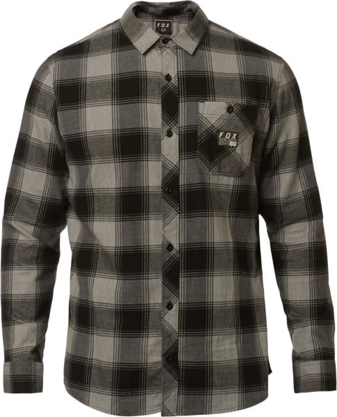 Longview Flanellhemd - Heather Graphite