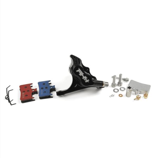 RX4 Brake Caliper Flatmount Complete front - Shimano - Black