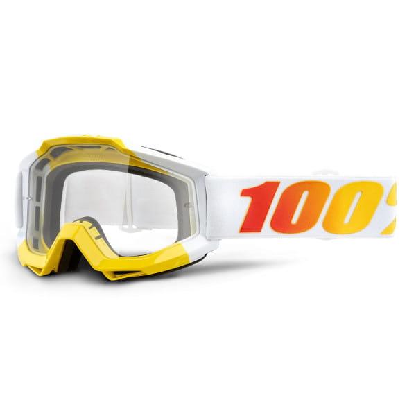 Accuri Goggle Anti Fog Clear Lens - Weiß/Gelb