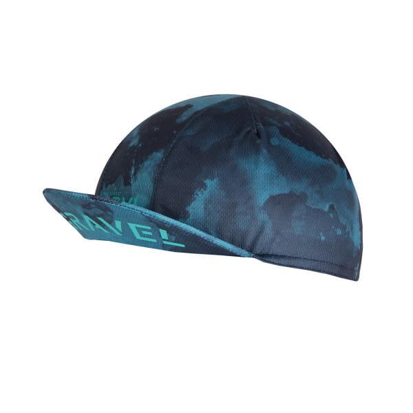 GRVL Cycling Cap - Blau