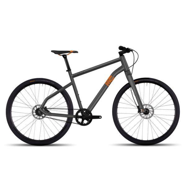 "Square Urban Times AL - 28"" Citybike grau orange"
