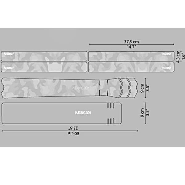 Rahmenschutz Kit - White Camo