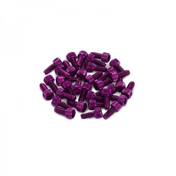 Ersatz Pins für Black ONE Pedal 10 Stück - purple