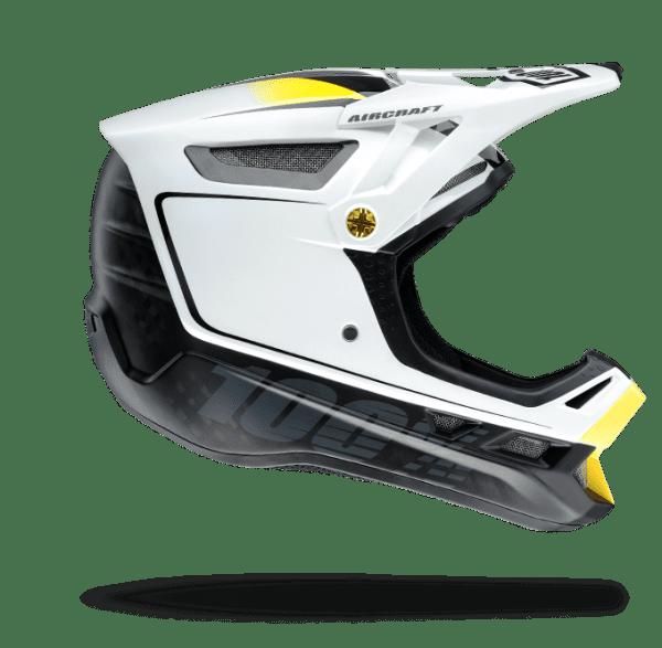 Aircraft Mips Fullface Helm - Bi-Turbo White