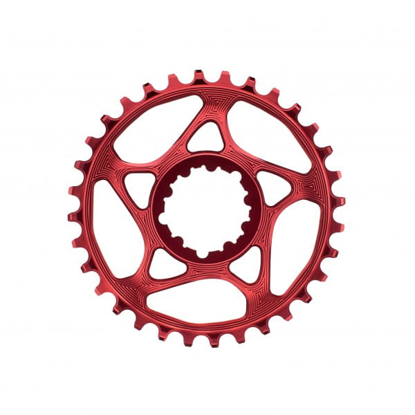 SRAM GXP Direct Mount Kettenblatt - 4.5 mm Offset - rot