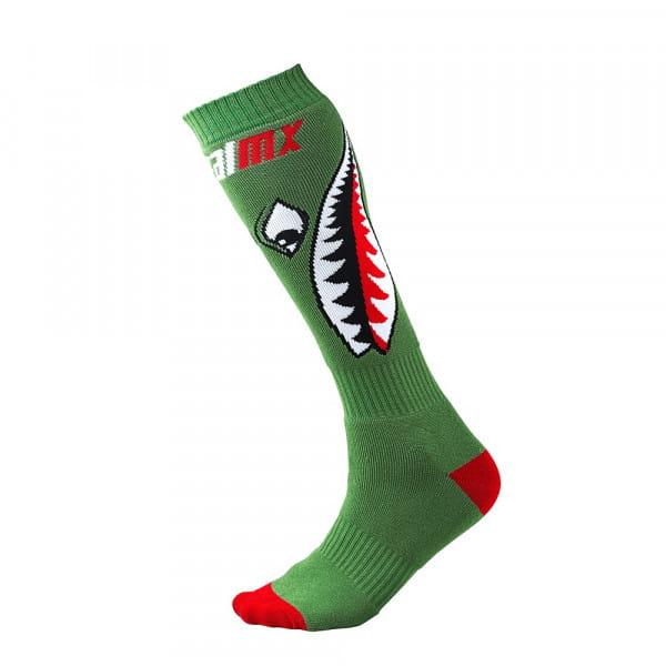 Pro MX Socks - Bomber - green