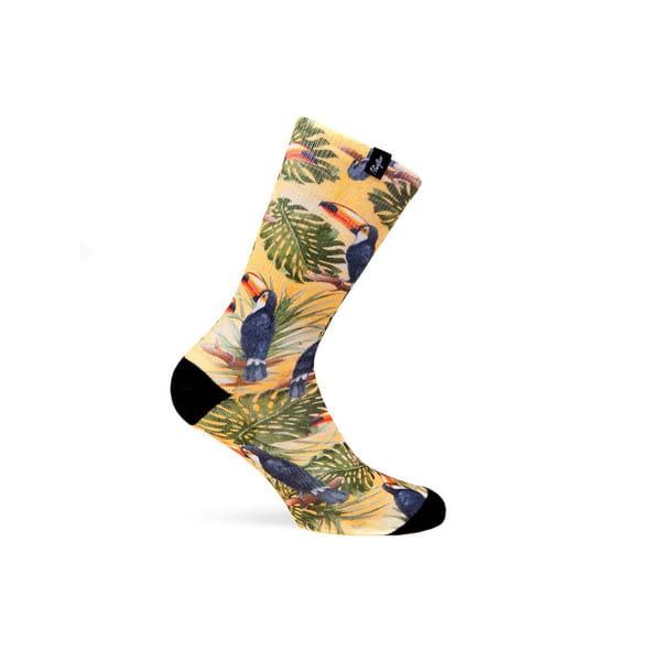 Socken Tropic - Gelb/Schwarz