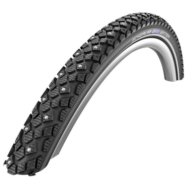 Winter Clincher Tire - 26x1.75 Inch - K-Guard - Reflex - black