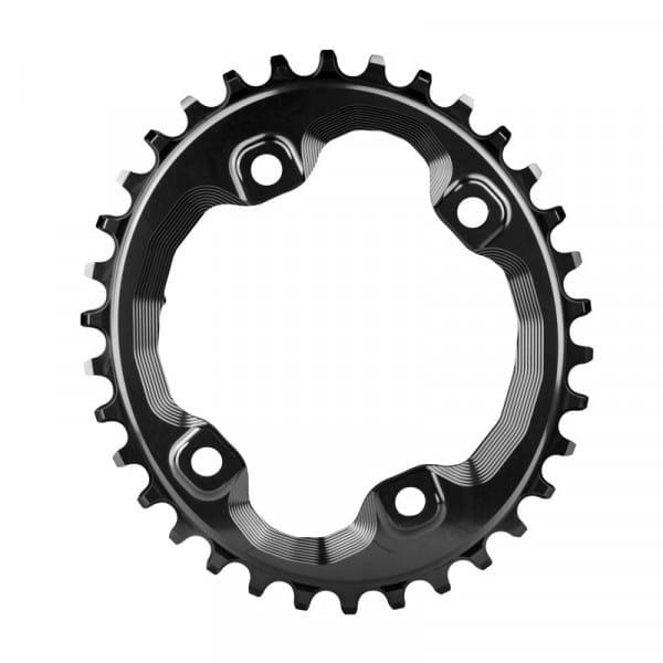 Shimano XT M8000 / SLX M7000 Kettenblatt - Oval - schwarz