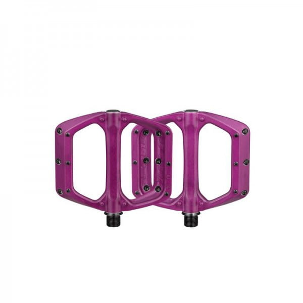 Spoon DC Flat Pedals - Purple