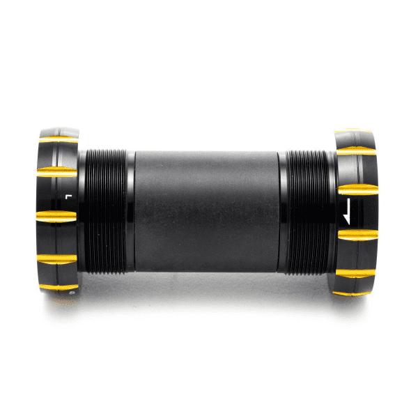 Hellbender Neo Innenlager BSA30 inkl. SKF MTRX Lager - Schwarz/Gold