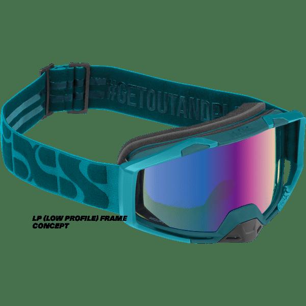Trigger Goggle Mirror - Everglade / Mirror Cobalt LP (Low Profile)