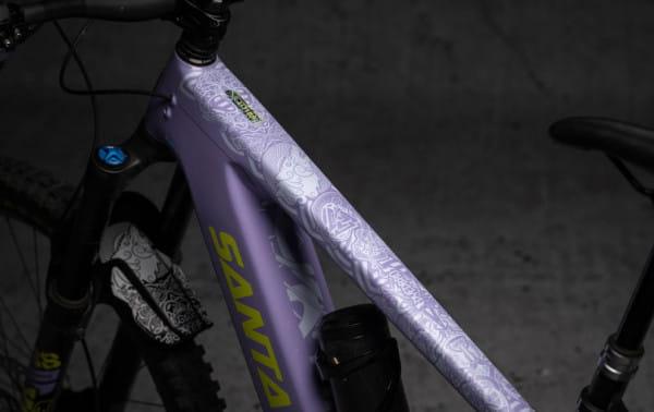 E-Bike Rahmenschutz Kit Viking - White