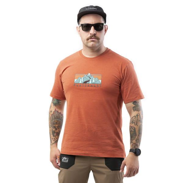 Gravel Logo T-Shirt - Orange