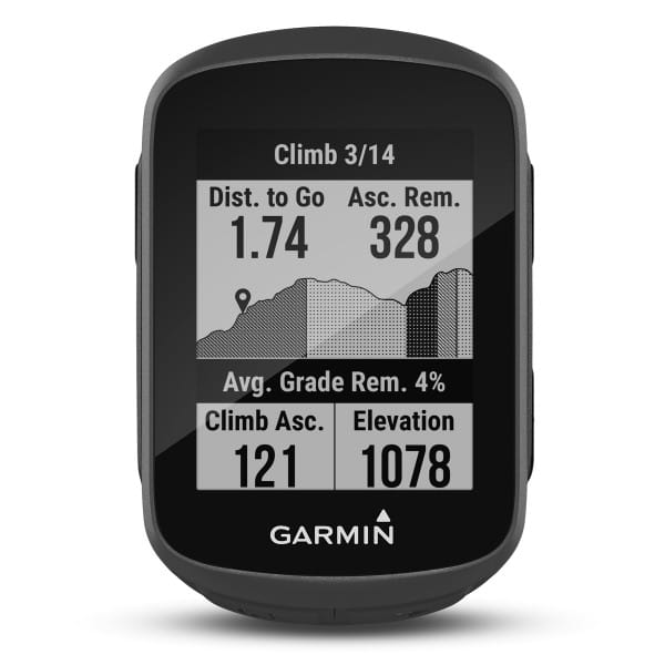 Edge130 Plus - GPS-Fahrradcomputer - Schwarz