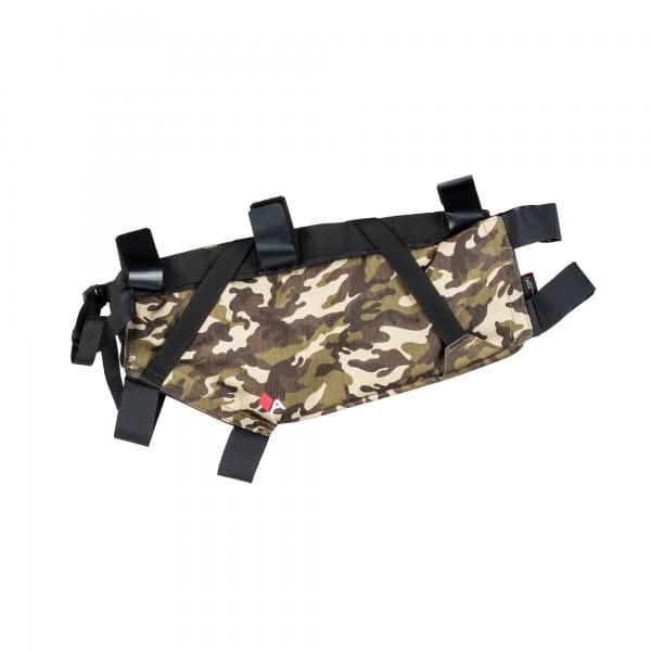 Roll Frame Bag Rahmentasche - camo
