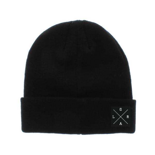 X-Logo Beanie/Wintermütze - Schwarz