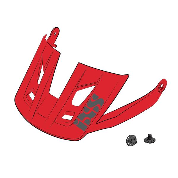 Ersatz Visier + Pins für Trigger AM - Rot