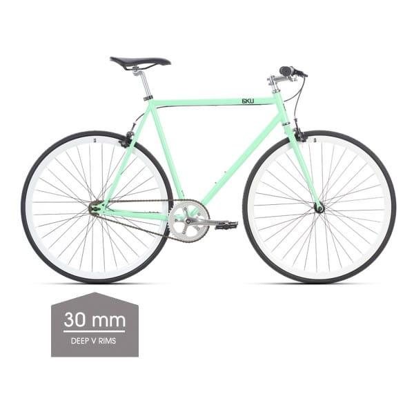 Milan 1 Singlespeed/Fixed Bike - 30 mm Deep V Felgen