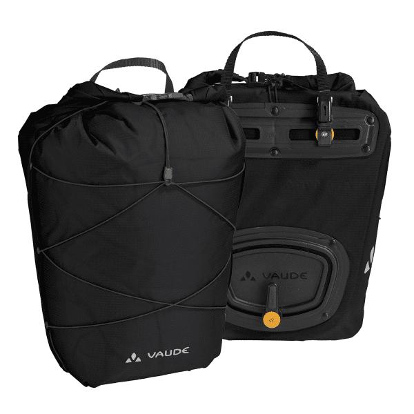 Aqua Back Light Carrier Bag - Black