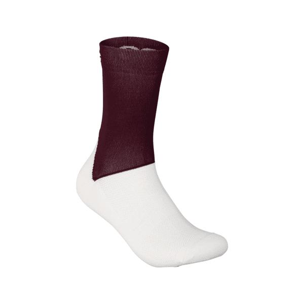 Essential Road Sock - Propylene Red/Hydrogen White