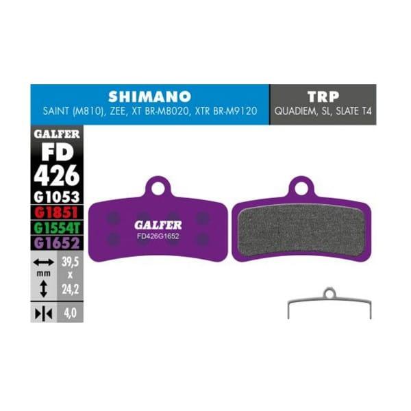 E-Bike Bremsbelag G1652 - Shimano XT & Zee