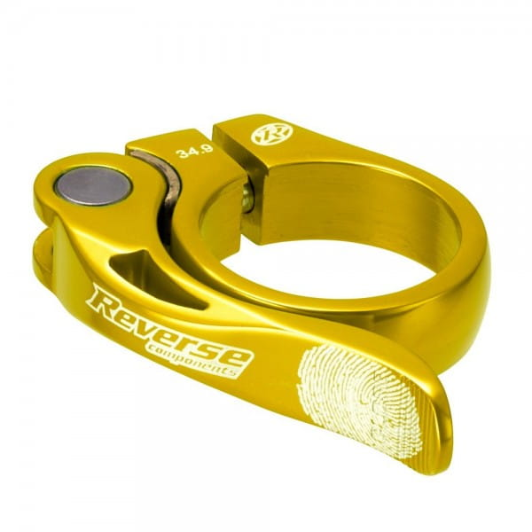 Long Life Sattelklemme 34,9mm - gold
