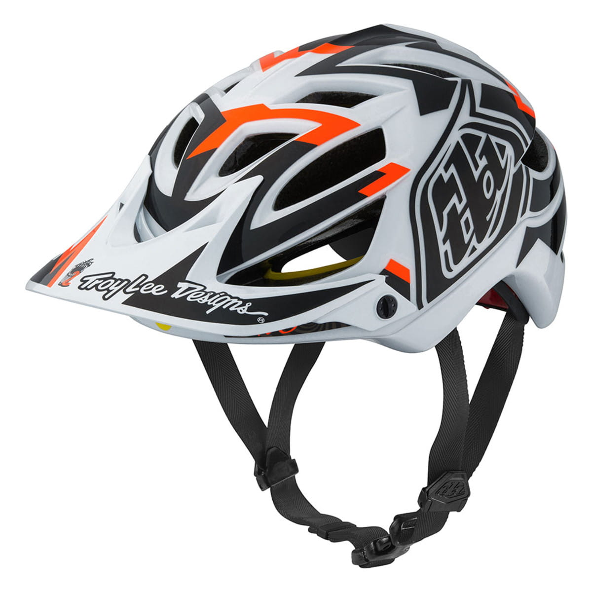 Troy Lee A1 MIPS MTN Cycling Helmet Orange